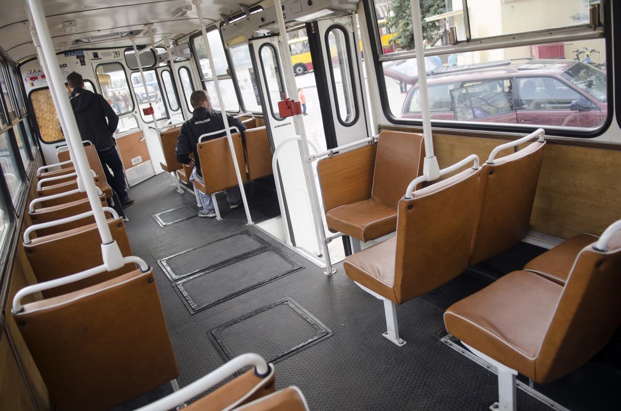 """Na """"moim"""" przystanku autobus był jeszcze pusty"""