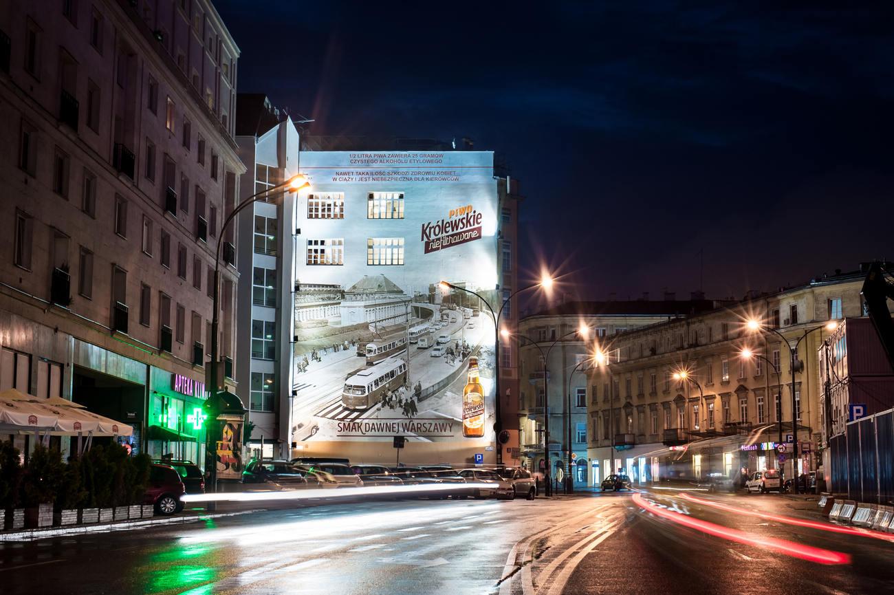 Widok naTrasę WZ - pierwsza odsłona muralu, fot.materiały promocyjne