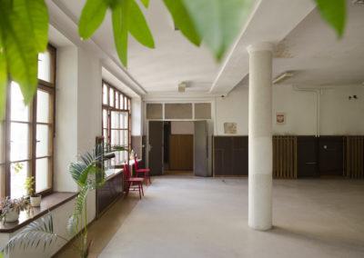 Największa sala na parterze