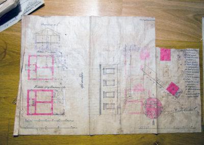 Plan fabryki przy ul. Wolność 2500b/c