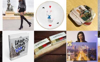 10 propozycji prezentów dla miłośników Warszawy
