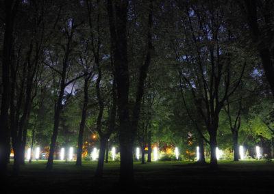 Aleja pamięci ofiar Powstania Warszawskiego