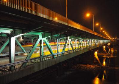 Tramwaj na moście Gdańskim