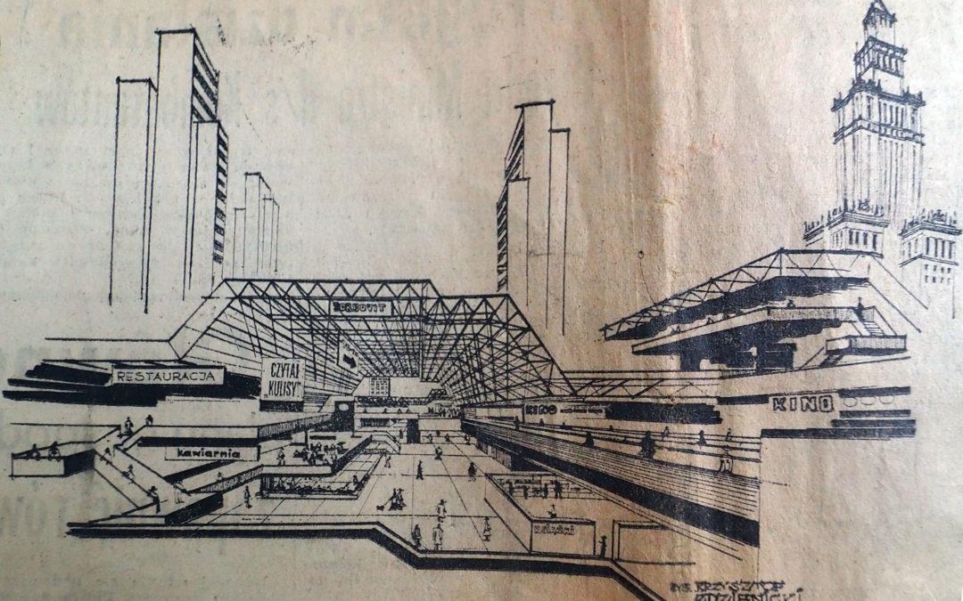 Niezrealizowany projekt centrum Warszawy