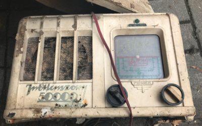 Unikatowy radioodbiornik znaleziony wWarszawie