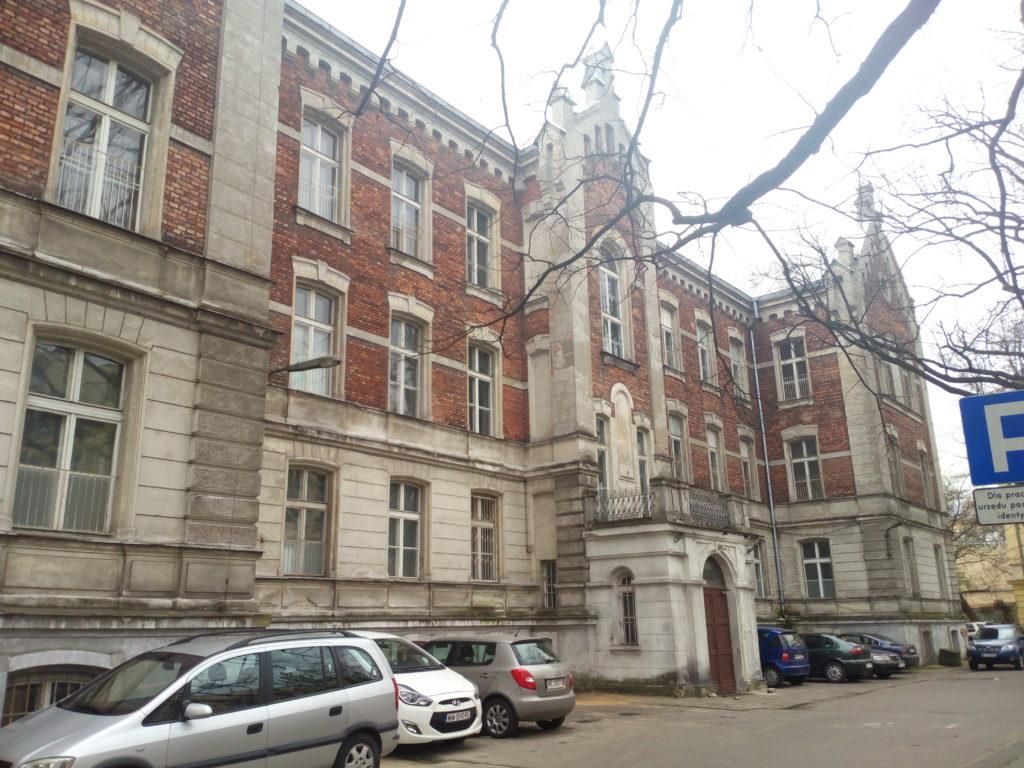 Obecny wygląd fasady budynku