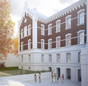 Odnowiona fasada budynku