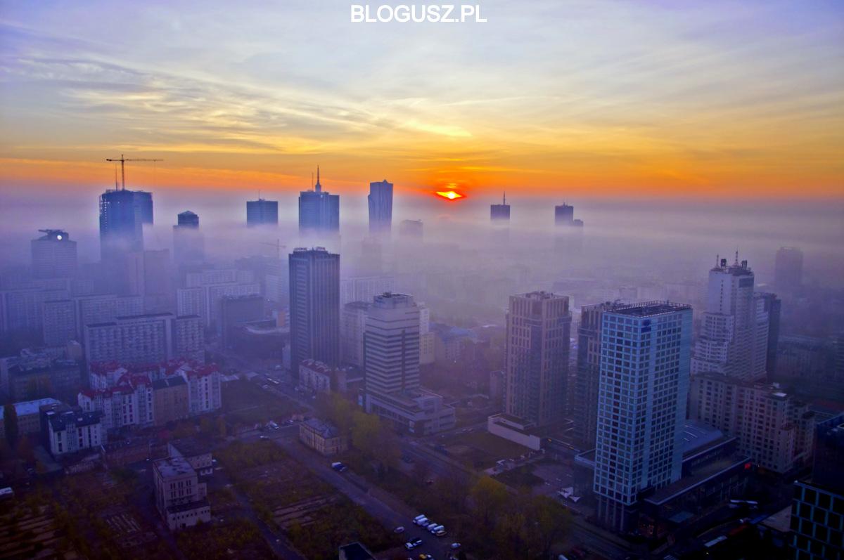 """""""Wieżowce wemgle"""", fot.Blogusz.pl"""