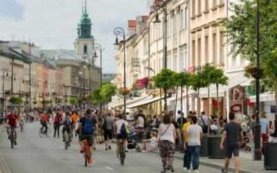 Warszawa coraz bardziej turystyczna