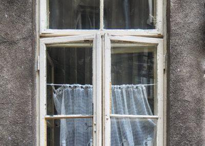 Kocie okno wŚródmieściu