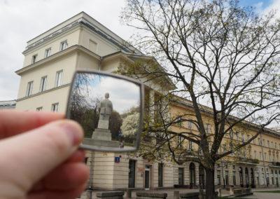 Warszawa wlustrze - Muranów