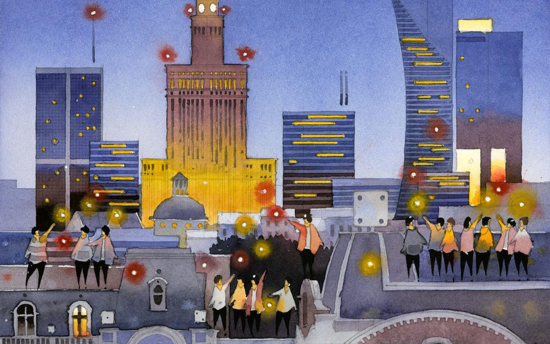 Fantastyczne miasta Tytusa Brzozowskiego – zobacz wystawę ispotkaj się zartystą osobiście