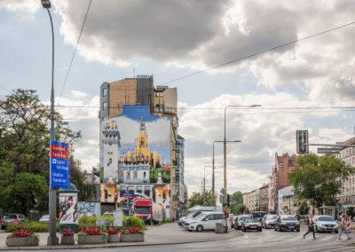 Mural przy ul. Grochowskiej